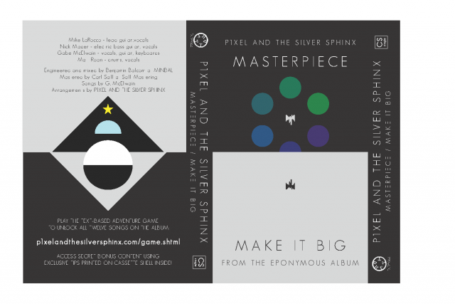 P1xel and the Silver Sphinx | Masterpiece / Make It Big